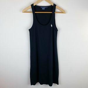 Ralph Lauren Sport Sleeveless Dress Black Size L